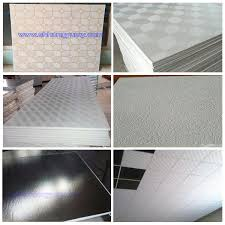 2x2 Ceiling Tiles Cheap by Factory Sales Cheap 2x2 Pvc Laminated Gypsum Ceiling Tiles Buy