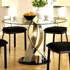 Used Round Dining Table Black Circle Medium Size Of Kitchen Small