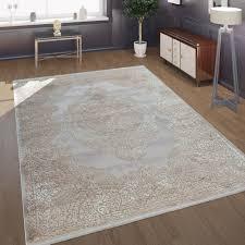 kurzflor wohnzimmer teppich antik orient muster