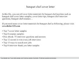 Banquet Chef Jobs In Dubai Cover Sample Letter 1