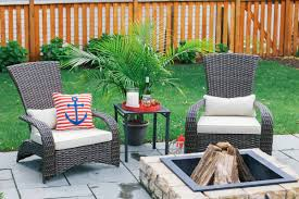 Kmart Jaclyn Smith Patio Furniture by Outdoor Patio Umbrellas At Lowes Solar Umbrella Home Depot