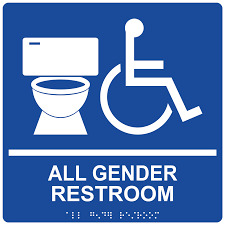 Gender Inclusive Bathroom Sign by Christmas Dinner Shopping List Template U2013 Free Online Form Templates