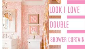 Shower Curtain Ideas For Small Bathrooms Looks I Shower Curtain At Home With