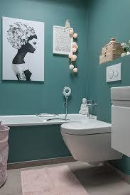 frühlingshaftes bad in tuerkis und rosa schön bei dir by depot