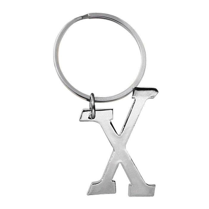 Ganz Initially Yours KeyRing - X