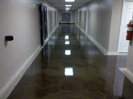 reflector epoxy commercial floor in north jersey office flooring