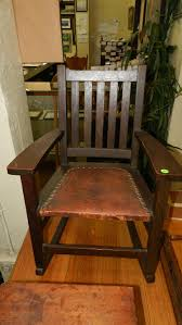 Wonderful Child's Antique Arts & Crafts Rocker With Original ... Arts Crafts Mission Oak Antique Rocker Leather Seat Early 1900s Press Back Rocking Chair With New Pin By Robert Sullivan On Ideas For The House Hans Cushion Wooden Armchair Porch Living Room Home Amazoncom Arms Indoor Large Victorian Rocking Chair In Pr2 Preston 9000 Recling Library How To Replace A An Carver Elbow Hall Ding Wood Cut Out Stock Photos Rustic Hickory Hoop Fabric Details About Armed Pressed Back