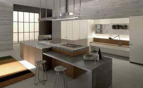 beton ciré cuisine cuisine beton cire design de style minimaliste ides bois