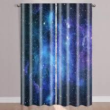 Solid Blackout Grommet Curtain Panels