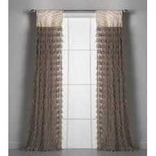 Smocked Burlap Curtain Panels by Burlap Curtains You U0027ll Love Wayfair