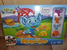 ELEFUN FRIENDS MOUSE TRAP BOARD GAME BY HASBRO CHARACTERS INCLUDED