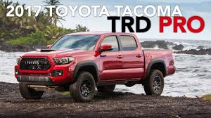 2017 Toyota Tacoma TRD Pro Review - YouTube New 2018 Toyota Tacoma Trd Sport Double Cab In Elmhurst Offroad Review Gear Patrol Off Road What You Need To Know Dublin 8089 Preowned Sport 35l V6 4x4 Truck An Apocalypseproof Pickup 5 Bed Ford F150 Svt Raptor Vs Tundra Pro Carstory Blog The 2017 Is Bro We All Need Unveils Signaling Fresh For 2015 Reader