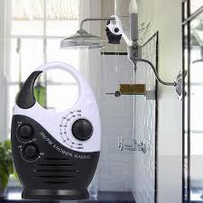am fm mini duschradio badezimmer wasserdichtes radio h ngendes musikradio eingebauter lautsprecher ohne batterie