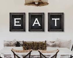 16 Wall Art For Dining Room Farmhouse Decor Eat Sign