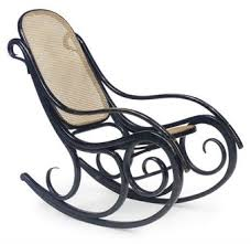 Thonet Bentwood Chair Cane Seat by Bentwood Rocking Chair After A Design By Thonet Chairblog Eu