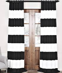 Vertical Striped Window Curtains by My Favorite Black And White Curtains Cuckoo4design