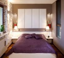 kleine schlafzimmer schon gestalten