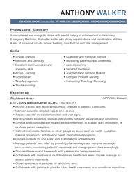 View Resume Registered Nurse