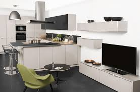 cuisine sur salon idée aménagement salon cuisine cuisine en image