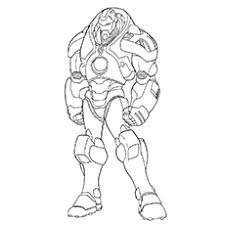 Excellent Inspiration Ideas Iron Man Color Page Mark Coloring Pages
