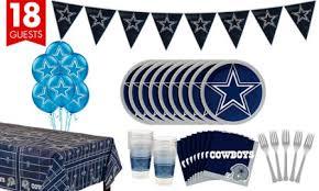 Halloween City Mcallen Tx Hours by Nfl Dallas Cowboys Party Supplies Decorations U0026 Party Favors