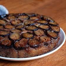 Fresh Fig Upside Down Cake
