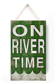 100 River House Decor Amazoncom Wooden Sign On Time On