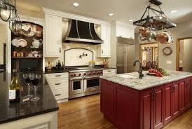 interior looking kitchen decoration with kitchen light with
