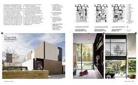 104 Residential Architecture Magazine Cooper Park Residence Featured In Houses Australia S Leading Pacific Plus Constructions