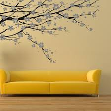 Wall Mural Decals Nature by Sophisticated Sticker Wall Decal With Trees Patterns Feat Modern