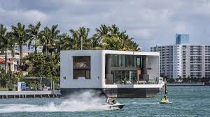 100 Boat Homes Dream Getaways Arkup 1 The 55M Floating Home In Miami