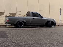 100 Low Rider Truck A Lowrider Truck Same Height As A Prius Shitty_Car_Mods