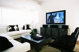 Black and White Living Room Contemporary living room Callas