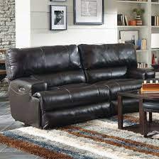 Catnapper Reclining Sofa Set by Catnapper Wembley Leather Lay Flat Reclining Sofa In Chocolate
