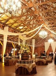 Barn Decor Idea Romantic Indoor Wedding Ideas With Lights Pottery Fall