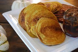 Pumpkin Cake Mix Pancakes pumpkin pancakes with butter pecan syrup pamela u0027s products