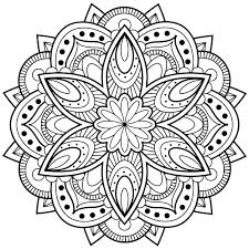 Printable Native American Dreamcatcher Mandala Free Coloring Pages For Adults Android Ios And Windows Phone