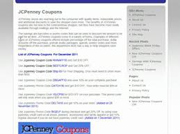Latest JCPenney Coupons And Promo Codes