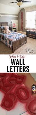 Super Cute Easy Wood Letters