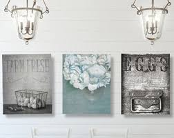 Dining Room Wall Art Farmhouse Decor SET Of THREE Prints Or Canvases
