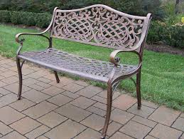 Outdoor Rocking Chairs Under 100 by Oakland Living Mississippi Cast Aluminum Settee Garden Bench W