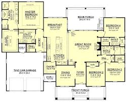 One Story House Plans With Porches Colors Best 25 Four Bedroom House Plans Ideas On Pinterest One Floor