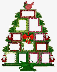 Christmas Tree Frame Clipart PNG Image And