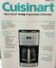 Costco 565000 Cuisinart Brew Central 14cup Coffee Maker