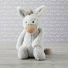 Crate And Barrel Rex Desk Lamp by Jellycat Medium Grey Donkey Stuffed Animal The Land Of Nod