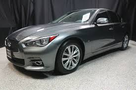 2014 Infiniti Q50 All Weather Floor Mats by 2014 Used Infiniti Q50 4dr Sedan Awd Premium At Auto Outlet