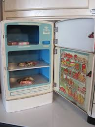 Awesome 1940s Refrigerator Viewing Gallery Retro Fridge Open