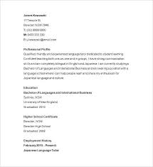 Sample Resume Examples Malaysia Samples Private Tutor