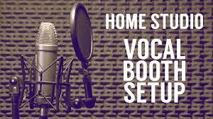 Home Studio Vocal Booth Setup