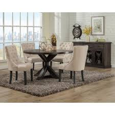 Dining Chairs Set Of 4 Kitchen Chair Pads Upholstered Room Cushioned Accent With Arms
